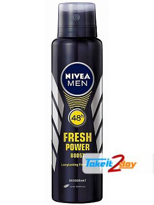 Nivea Fresh Power Boost Deodorant Body Spray For Men 150 ML
