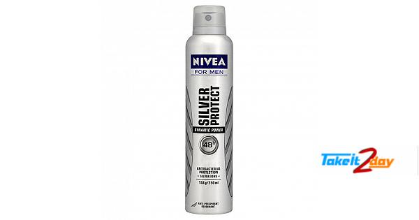 Nivea Silver Protect Deodorant Body Spray For Men 150 ML