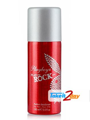 Playboy Play It Rock Deodorant Body Spray For Men 150 ML