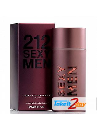 212 Sexy Men By Carolina Herrera Perfume For Men 100 ML EDT