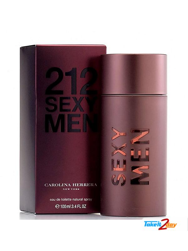 212 Sexy Men By Carolina Herrera Perfume For Men 100 ML EDT (COHE21SE01)