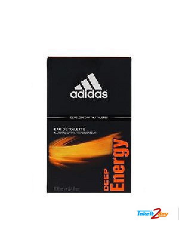 bienes de conveniencia sin impuesto de venta zapatos deportivos Adidas Deep Energy 100 ML Edu De Toilette (ADDEE01)