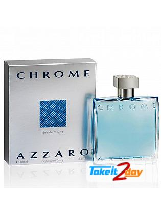 Azzaro Chrome Perfume 100 ML Edu De Toilette