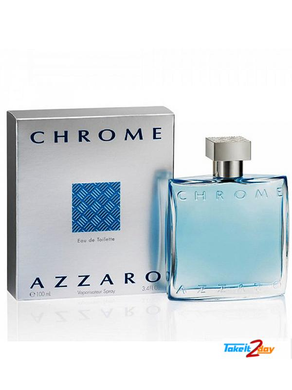 Azzaro chrome perfume 100 ml edu de toilette azco01 for Chrome azzaro perfume