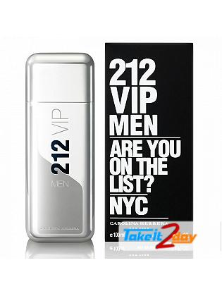 212 VIP Men By Carolina Herrera Perfume For Men 100 ML