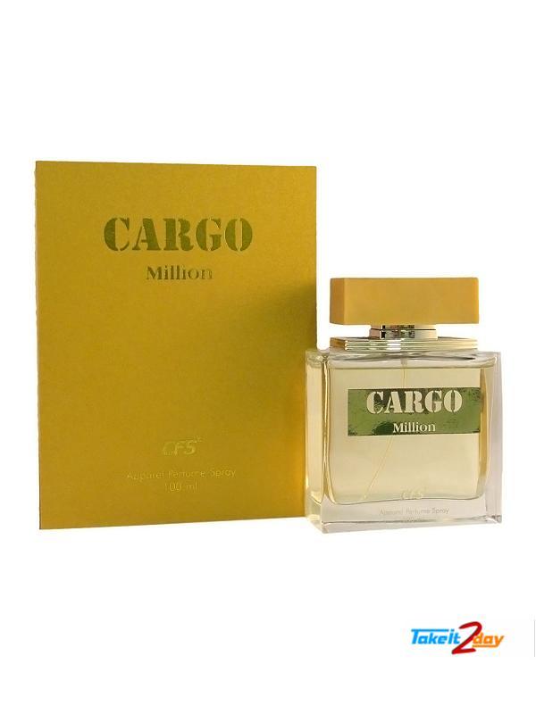 CFS Cargo Million Perfume For Men 100 ML EDP (CFCAMI01)