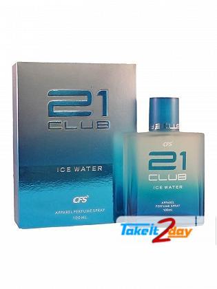 CFS 21 Club Ice Water Perfume For Men 100 ML EDP