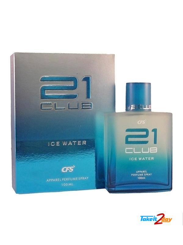 Club For Men 100 21 Water Ice Ml Edp Cfs Perfume Ny8nOvmP0w