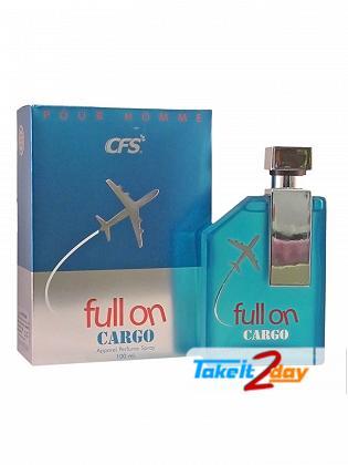 CFS Full On Cargo Pour Homme Blue Perfume For Men 100 ML EDP