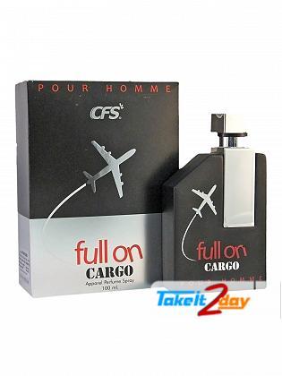 CFS Full On Cargo Pour Homme Black Perfume For Men 100 ML EDP