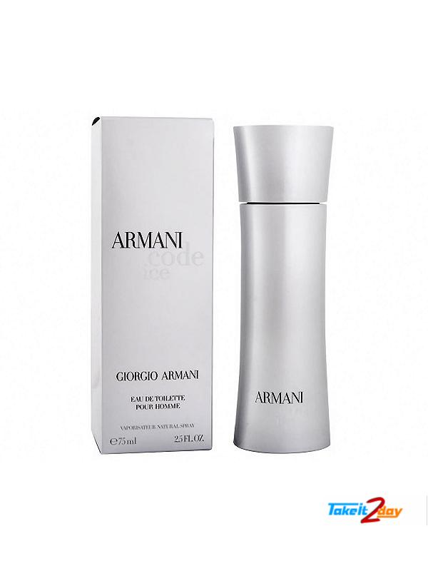 Perfume Men For 75 Ml Giorgio Code Ice Edt By Armani qc34AjLR5