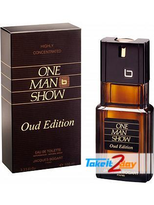 Jacques Bogart One Man Show Oud Edition Perfume For Men 100 ML EDT