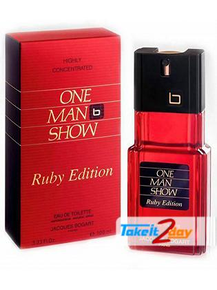 Jacques Bogart One Man Show Ruby Edition Perfume For Men 100 ML EDT