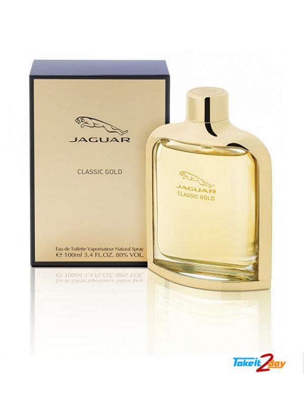 jaguar classic gold perfume 100 ml jacl01. Black Bedroom Furniture Sets. Home Design Ideas