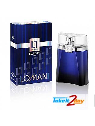 Lomani Blue Sky Perfume For Men 100 ML