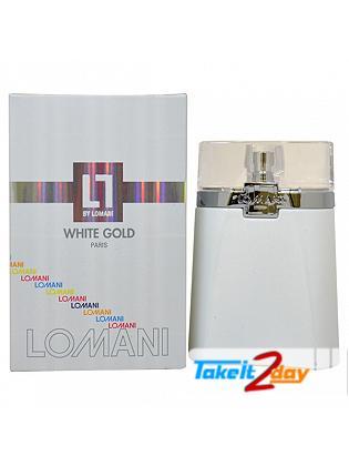 Lomani White Gold Perfume For Men 100 ML EDT