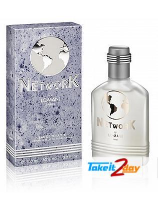 Lomani Network Perfume For Men 100 ML EDT