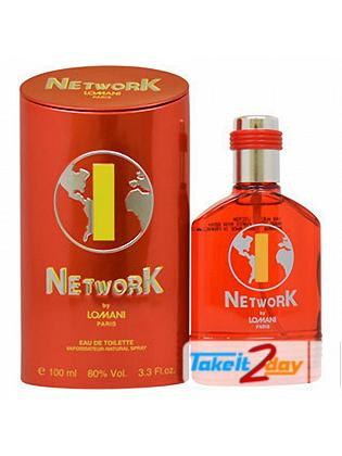 Lomani Network 1 Perfume For Men 100 ML EDT