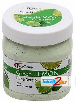 Bio Care Green Lemon Scrub