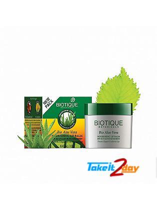 Biotique  Bio Aloe Vera NOURISHING LIP BALM SPF 30 UVA/UVB SUNSCREEN