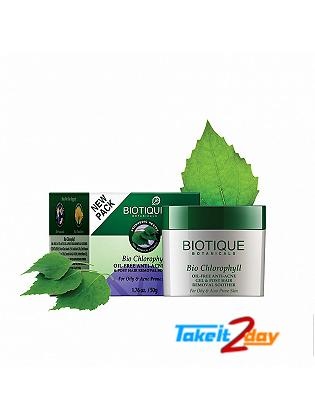 Biotique  Bio Chlorophyll OIL-FREE ANTI-ACNE GEL & POST HAIR REMOVAL SOOTHER