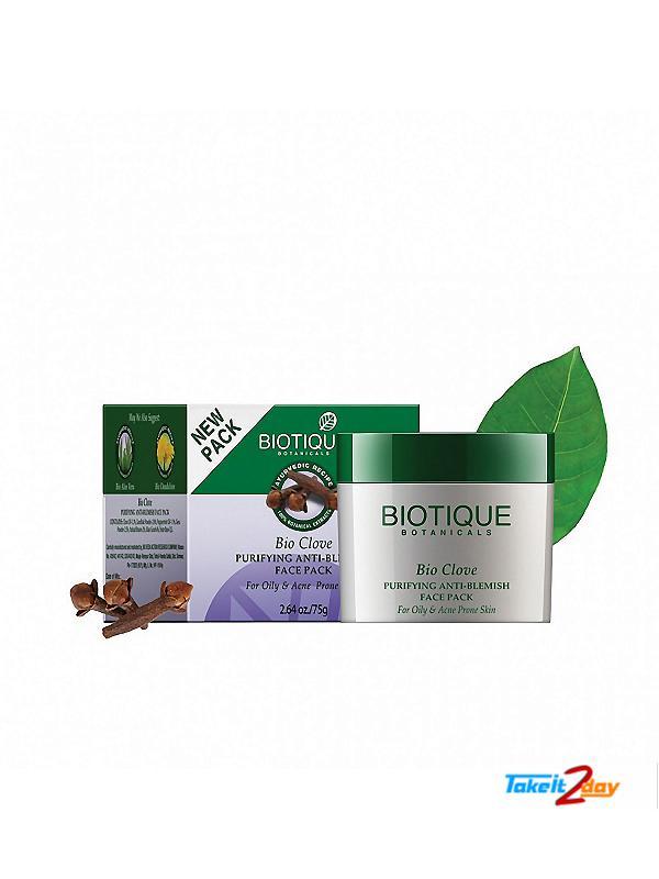 Biotique  Bio Clove PURIFYING ANTI-BLEMISH FACE PACK (B31)