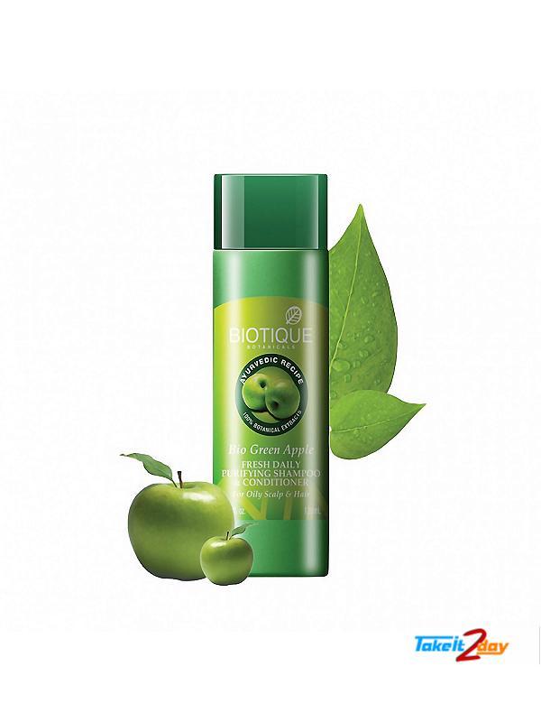 Biotique  Bio Green Apple FRESH DAILY PURIFYING SHAMPOO & CONDITIONER (B50)