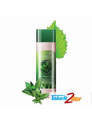 Biotique Bio Henna Leaf FRESH TEXTURE SHAMPOO & CONDITIONER