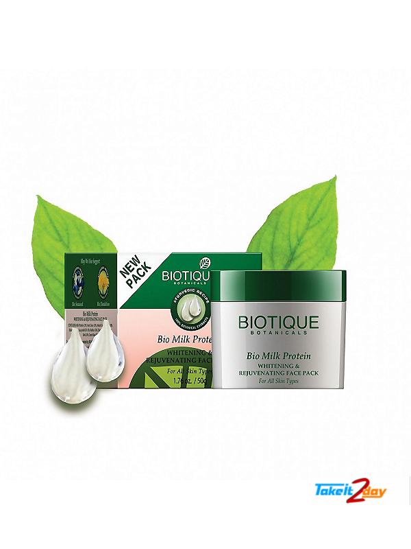 Biotique  Bio Milk Protein WHITENING & REJUVENATING FACE PACK (B27)