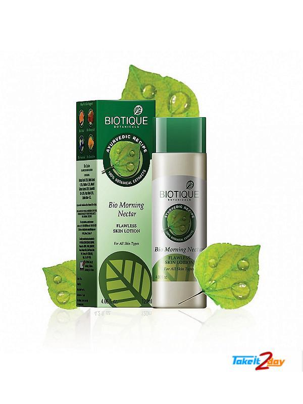 Biotique  Bio Morning Nectar FLAWLESS SKIN LOTION (B11)