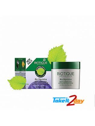 Biotique  Bio Myristica SPOT CORRECTING ANTI-ACNE FACE PACK