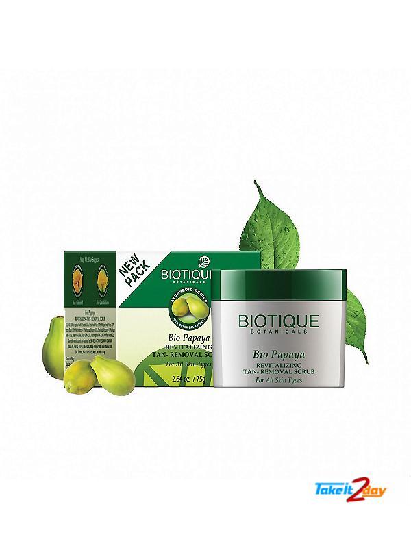 Biotique  Bio Papaya REVITALIZING TAN-REMOVAL SCRUB (B21)