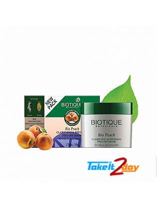 Biotique  Bio Peach CLARIFYING & REFINING PEEL-OFF MASK