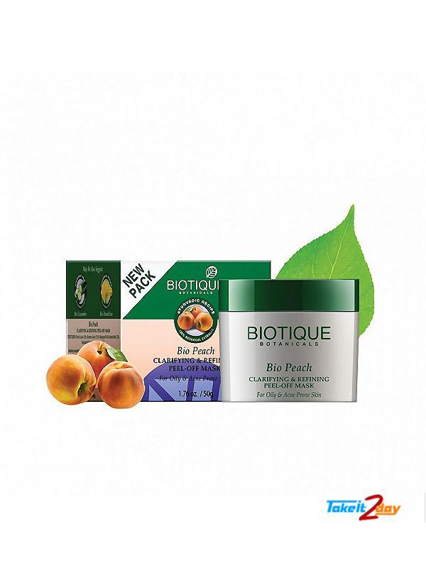 Biotique  Bio Peach CLARIFYING & REFINING PEEL-OFF MASK (B22)