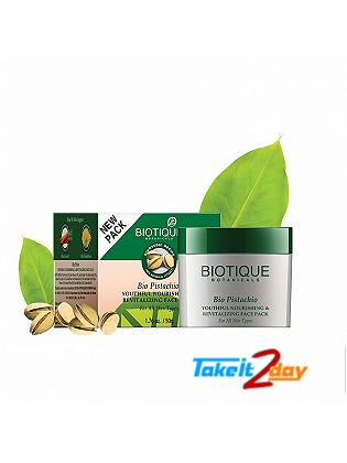Biotique  Bio Pistachio YOUTHFUL NOURISHING & REVITALIZING FACE PACK