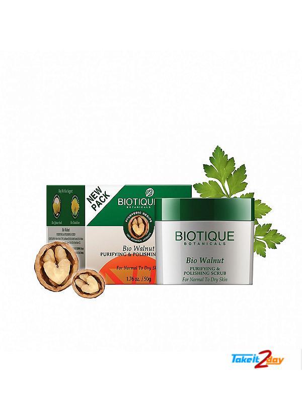 Biotique  Bio Walnut PURIFYING & POLISHING SCRUB (B23)