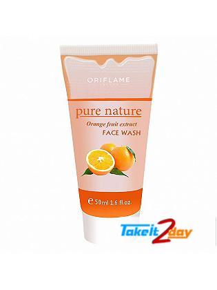 Oriflame Nature Orange Fruit extract Face Wash 50 ml