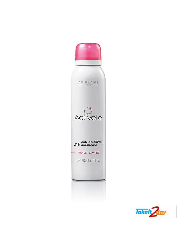 Oriflame Activelle Anti-Perspirant 24h Deodorant Pure Care