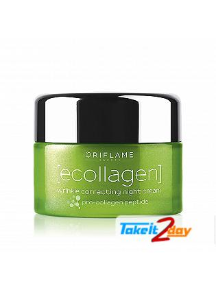 Oriflame Ecollagen Wrinkle Correcting Night Cream 50 Ml