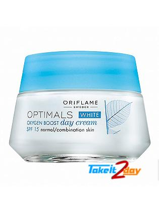Oriflame Optimals White Oxygen Boost Day Cream SPF15 50 Ml