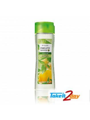 Oriflame Nature Secrets Shampoo For Greasy Hair Nettle & Lemon 250 Ml