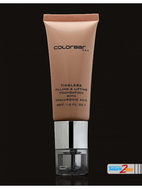 Colorbar USA Timeless Filling And Lifting Foundation Light Linen 30ml (CO002)