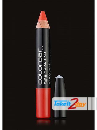 Colorbar USA Take Me As I Am Lipstick Sinful Orange 3.94 Gm