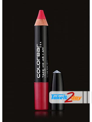 Colorbar USA Take Me As I Am Lipstick Tango Pink 3.94 Gm