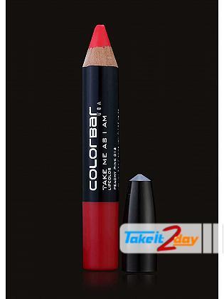 Colorbar USA Take Me As I Am Lipstick Peachy Pink 3.94 Gm