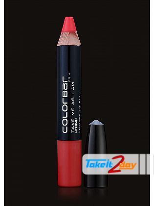 Colorbar USA Take Me As I Am Lipstick Expressive Peach 3.94 Gm