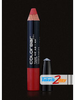 Colorbar USA Take Me As I Am Lipstick Dragging Rust 3.94 Gm