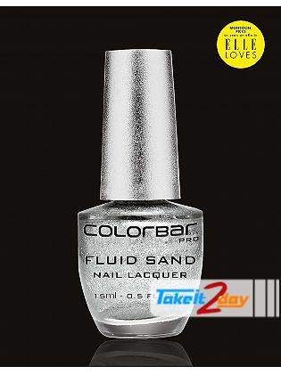 Colorbar USA Fluid Sand Nail Lacquer Moon Struck 15 Ml