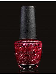 Colorbar USA Glitterati Top Coat Jazz Red 15 Ml