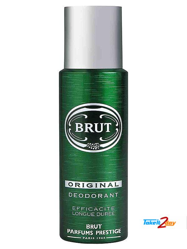 Brut Original Deodorant Body Spray For Men 200 Ml Bror01